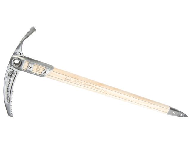 Grivel Monte Bianco Replica - Piolet - 75 cm beige/gris